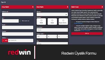 Redwin Üyelik Formu